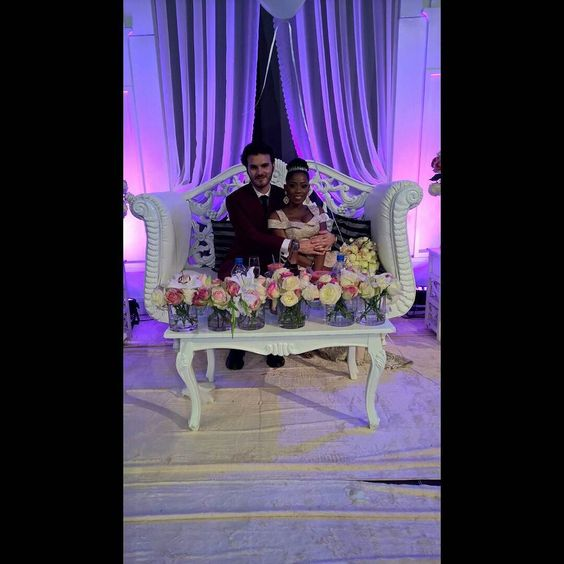 #yorufrench2015 Stunning couple  Image via @ibayoomisore  #weddings #bride #groom #idonigeria