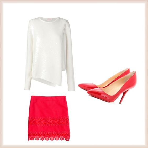 """Red"" by arlethmajerowicz on Polyvore"