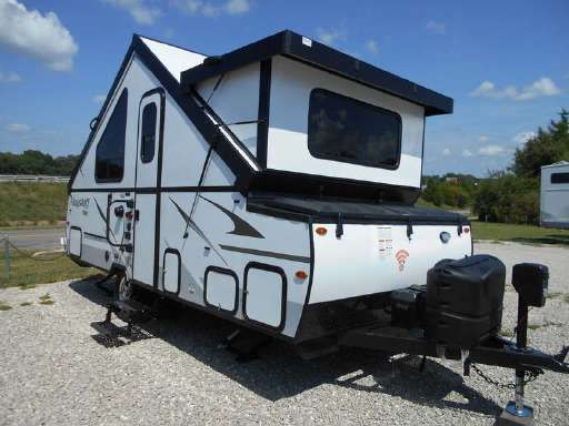 2019 Forest River Flagstaff Hard Side Pop Up Campers High Wall T21tbhw In Phillipsburg Mo A Frame Camper Popup Camper Rvs For Sale
