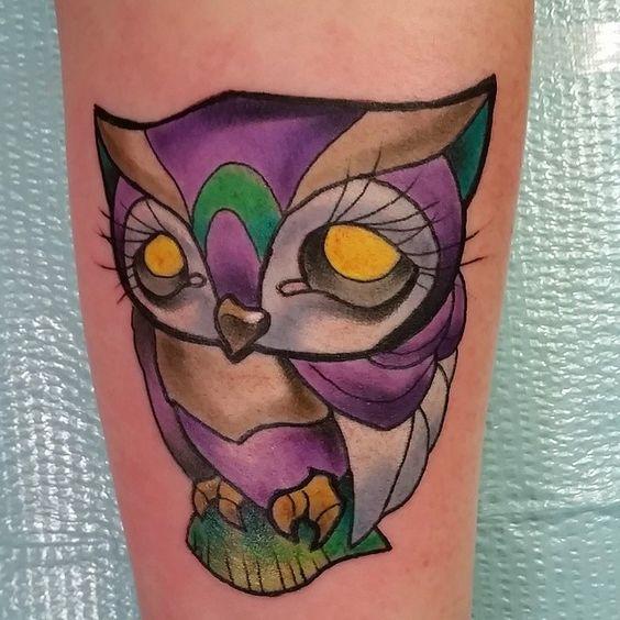 Skin Deep Tales, owl tattoo