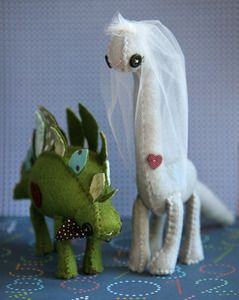Dinosaur Cake Toppers - adorbs