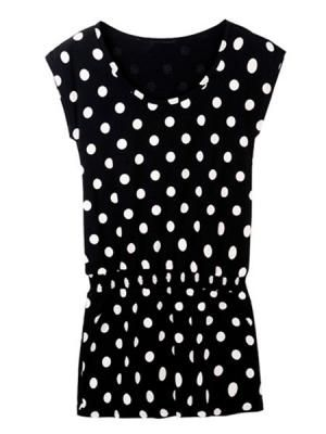 Polka Dot Casual Dress      <3