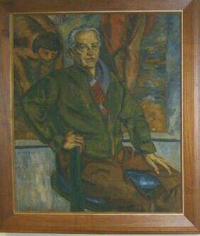 Pedro Nel Gómez    autoretrato oleo
