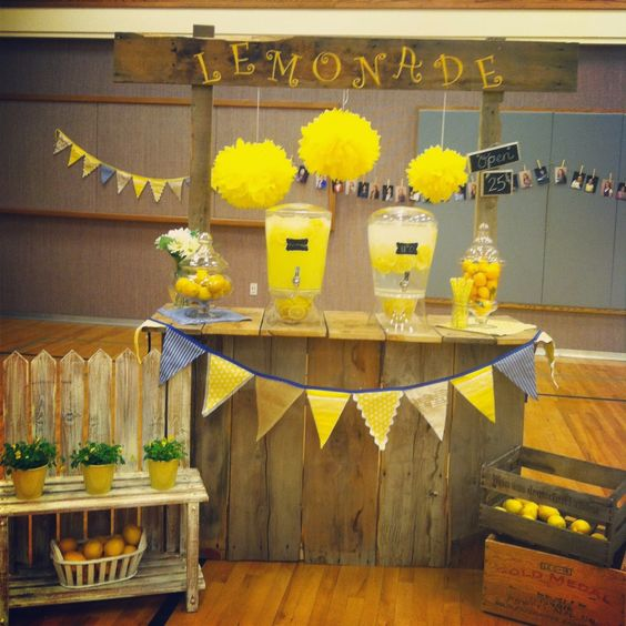 When Life hands you Lemons make Lemonade. Relief Society Enrichment Activity