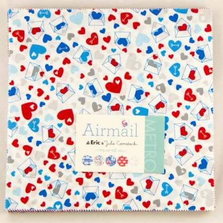 Moda Layer Cake - Airmail by Eric & Julie Comstock