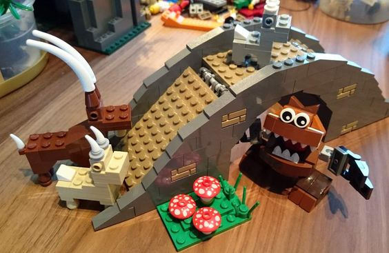 Bricks: At home with the kids, by Cakeman