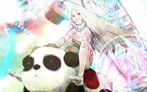 panda anime