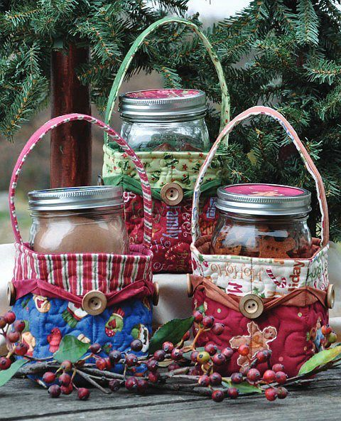 Mason Jar Baskets Pattern