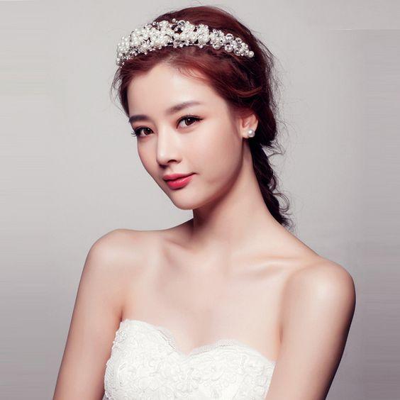 Makeup Wedding Korean Style : Eyes, Beauty and Wedding on Pinterest