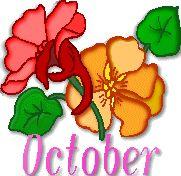 Oktober - October