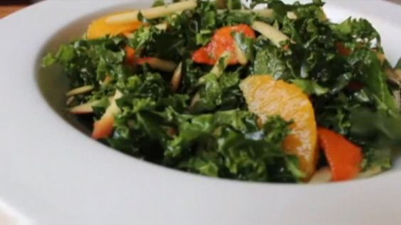 Raw Kale Salad | Salad | Pinterest | Kale Salads, Kale Salad Recipes ...