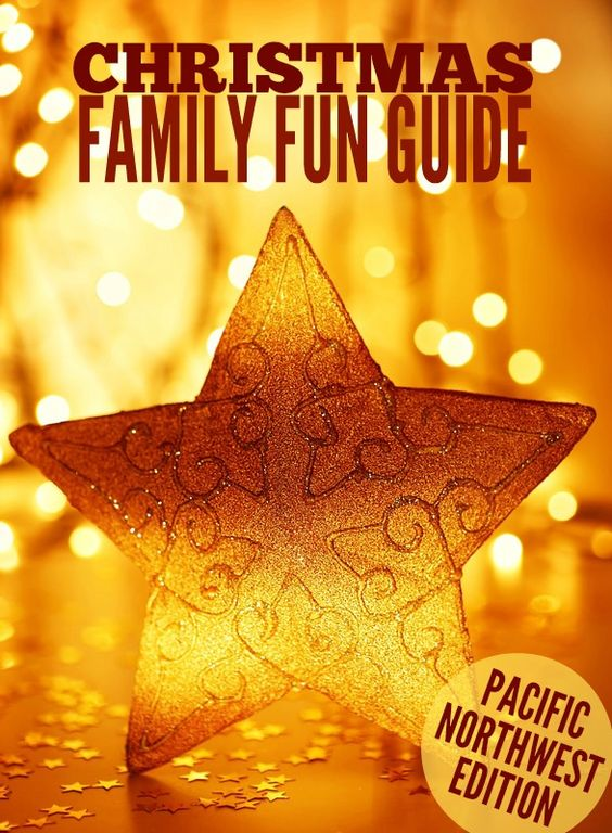 Pacific Northwest Christmas Family Fun Guide -- An epic list of all types of Christmas events and activities in the Washington & Oregon.