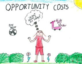 Opportunity cost theme