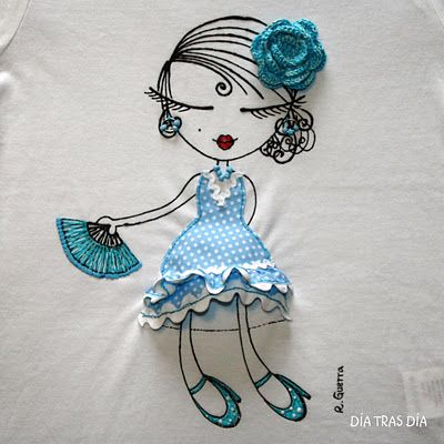Muñeca para camisetas