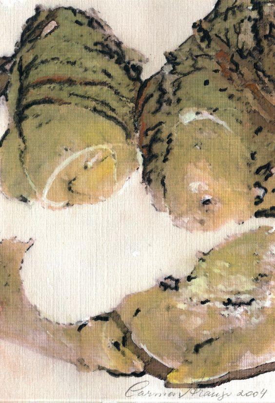 """""""Charutos"""" - Aquarela. Projeto """"Delta Z"""". Setembro 2004. Arte Erótica."""