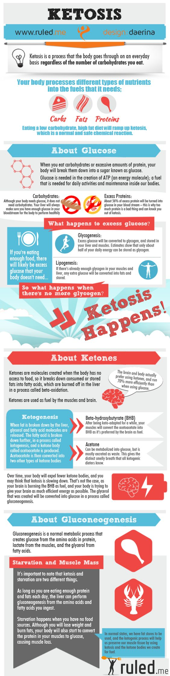 Fantastic Infographic about Ketosis, Ketones, and How it all Works! | Ruled Me: