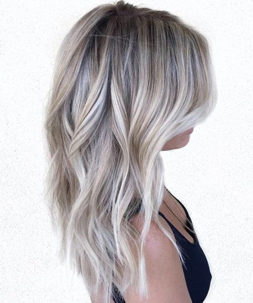 11 Of The Outstanding Icy Blonde Medium Hairstyles 2019 For