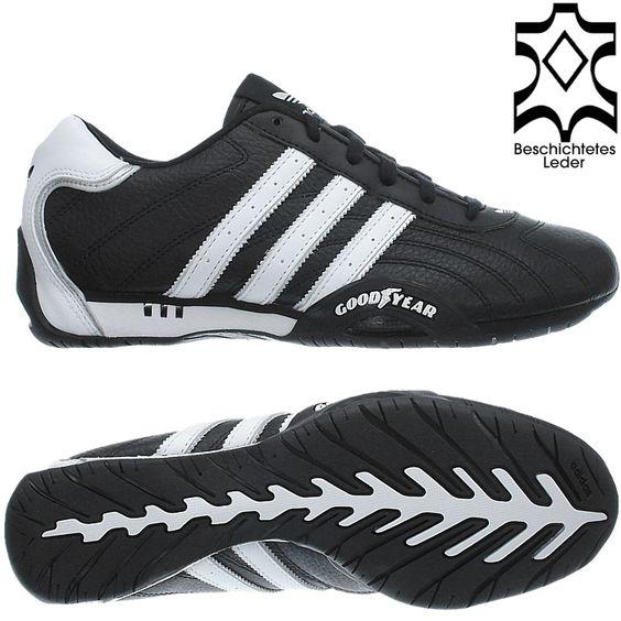 Adidas Schuhe Herren Schwarz Weiß