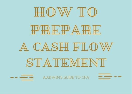 Cash Flow Ratios Fcff And Fcfe  Chartered Financial Analyst