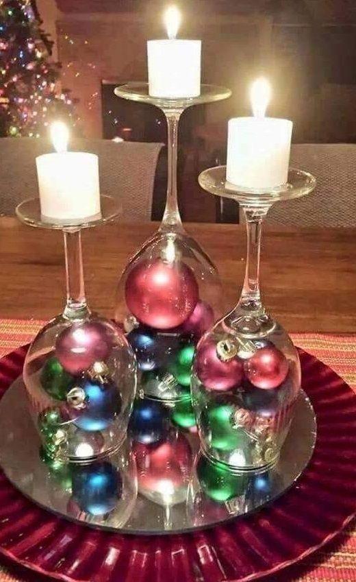 Unique And Creative Christmas Ideas Christmas Decor Diy Christmas Table Centerpieces Simple Christmas