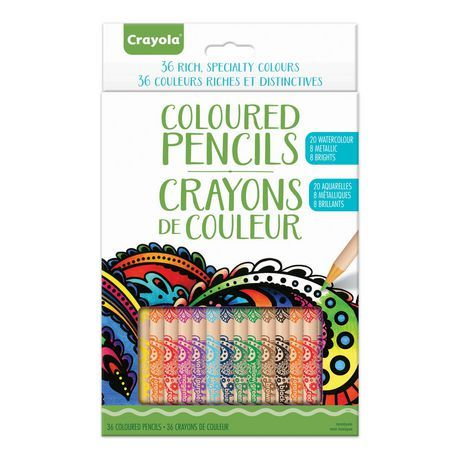 Crayola Rich Specialty Coloured Pencils With Images Crayola