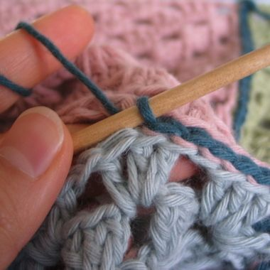 The amazingly flat crochet seam
