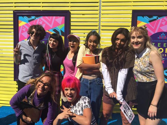 Hey Violet and Little Mix at the TCAs