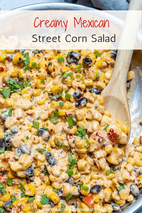 Creamy Mexican Street Corn Salad