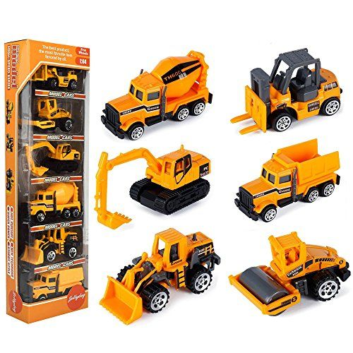Engineering Vehicles Truck Large Excavator Model Car Classic Toy For Boy Kids DI
