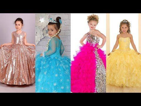 اجمل فساتين اطفال للعيد موضة2020 فساتين بنات صغار سواريه افراح سهره ملابس اطفال بنات احدث تشكيلة Youtube Dresses Prom Dresses Formal Dresses
