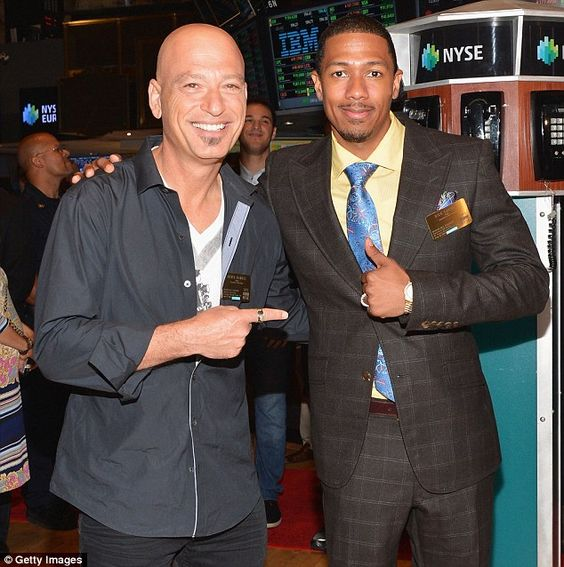 Friends: Mandel, 60, and Cannon, 35, star together on America's Got Talent. The pals also tour a two-man comedy show. They're seen together in July at the New York Stock Exchange
