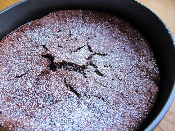 joeycake: (gluten-free) flourless chocolate cake