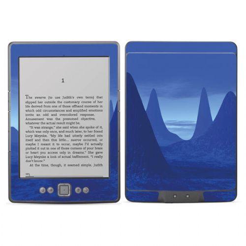 Kindle skins - Blue spacescape  Diabloskinz