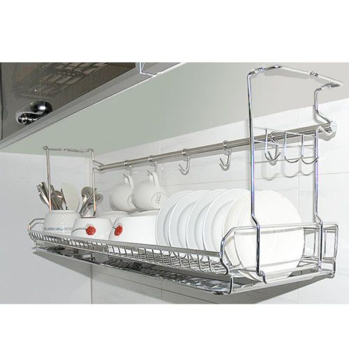 Stainless Dish Drying Fixing Rack Ladle Cup Spoon Shelf Sink Kitchen Organizer Kitchen Sink Organization Kitchen Storage Organization Kitchen Organization