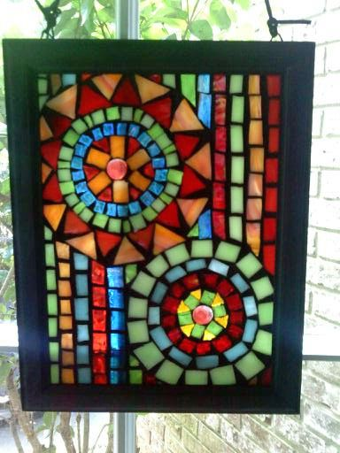 mini mosaic window by leannchristian via flickr window. Black Bedroom Furniture Sets. Home Design Ideas