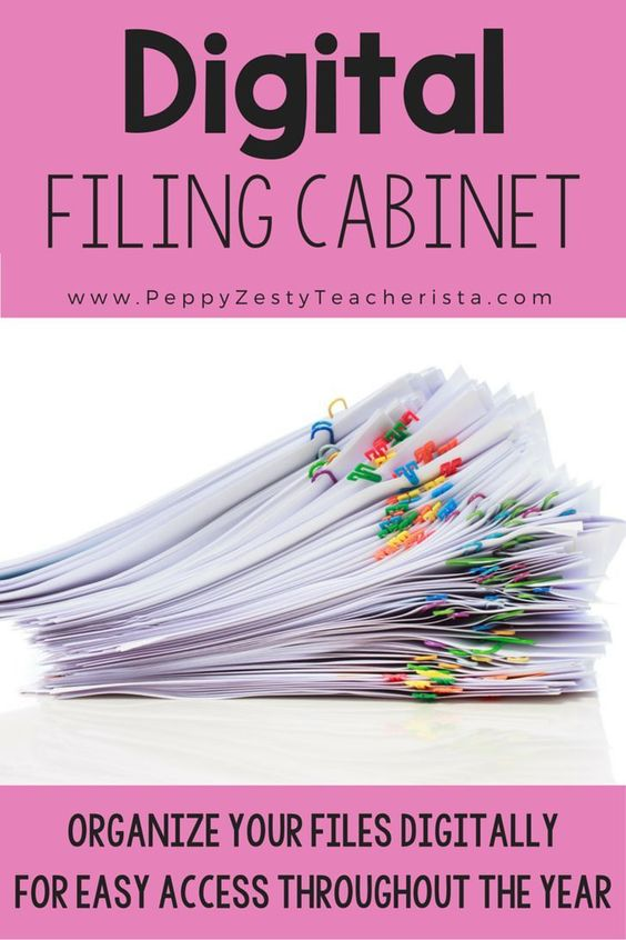 Get organized for the new year! Elementary teacher looking for a technology in the classroom trick to organize your classroom and files? This classroom organize trick will leave your room clutter free!