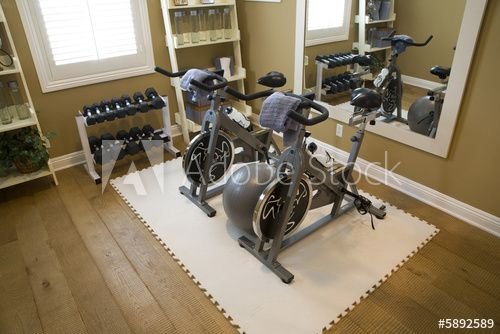 Luxury Home Fitness Room Gym Room At Home Workout Room Home Home Gym Decor
