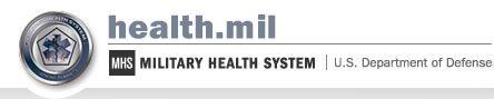 Health.mil Home