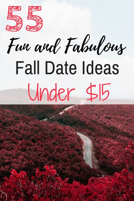 Looking for some fun and cheap fall date ideas? I love this list! It is awesome with some really creative fall date ideas! I love #50!