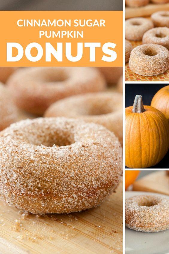 Recipe for pumpkin cake donuts