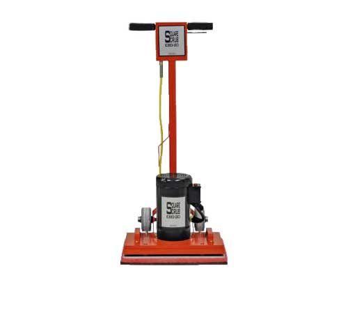 Demo Square Scrub Ebg 20 Floor Preparation Machine Floor Preparation Flooring Slip And Fall
