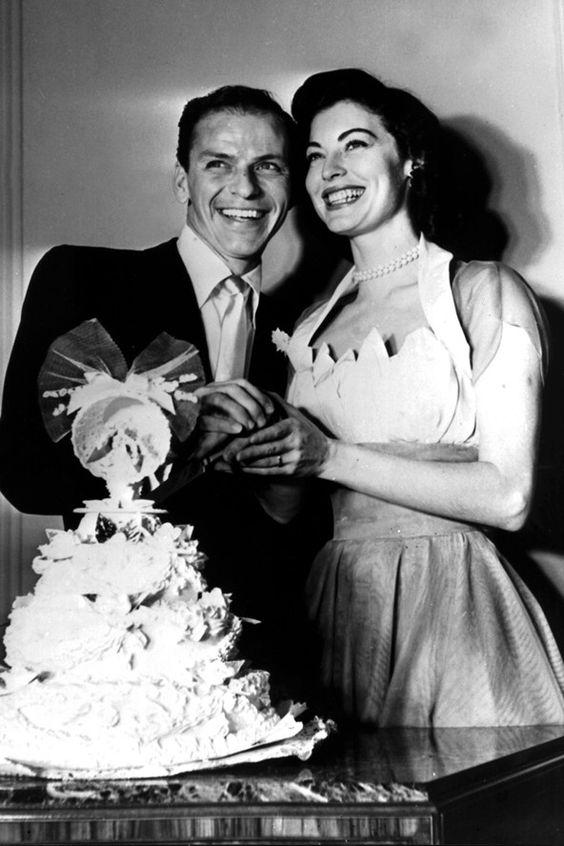 Ava Gardner in a 1950s wedding dress | b n w ...