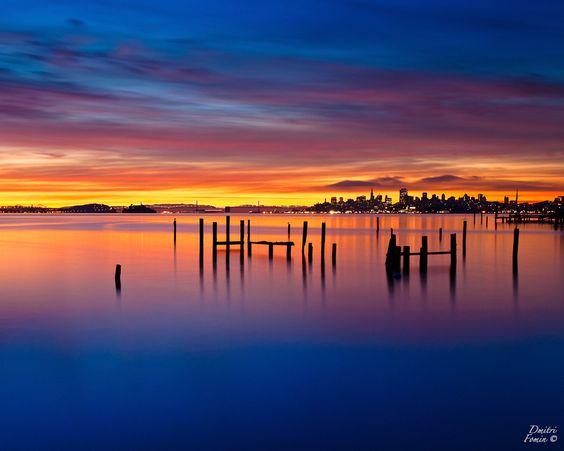 Good morning San Francisco by Dmitri Fomin, via 500px