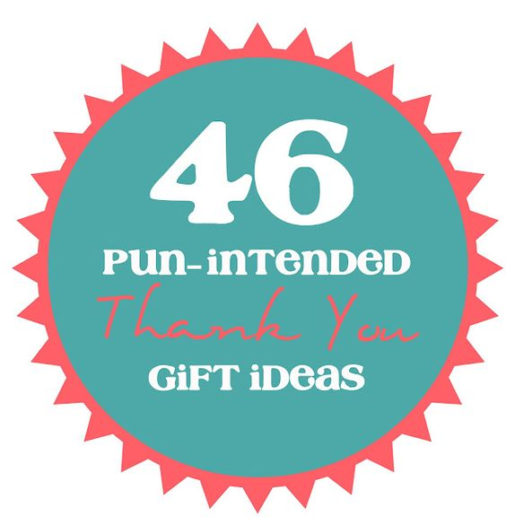 Pun-Intended Thank You Gift Ideas: Thank You Gift, Patch Gift, Punny Gift, Pun Gift, Diy Gift, Simple Gift, Intended Gift, Giftidea