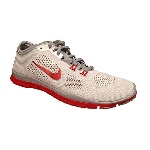 NIKE Women's WMNS Free 5.0 TR FIT 4 Team, WHITESPORT RED