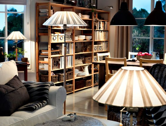 shelves lighting and ikea on pinterest. Black Bedroom Furniture Sets. Home Design Ideas