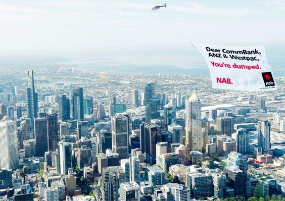 Beautiful Australian campaign. (NAB & Clemenger BBDO)