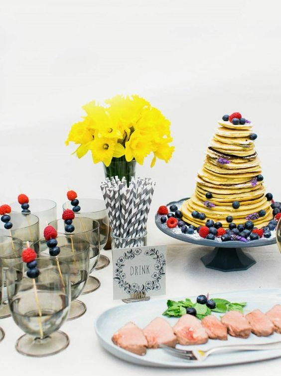 styled brunch by Madeline Trait / Milou + Olin Photography