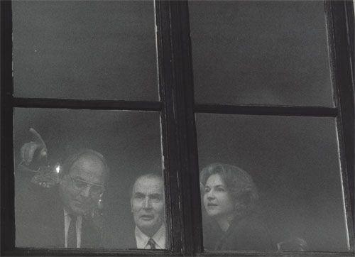 Helmut Kohl, François Mitterrand, 1983, by Barbara Klemm