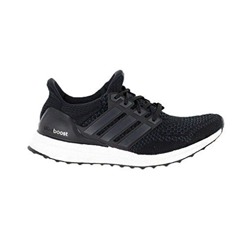 adidas Ultra Boost Women\u0027s ($170) ? liked on Polyvore featuring shoes,  athletic shoes, adidas, lightweight shoes, black and white shoes, elastic  sh\u2026